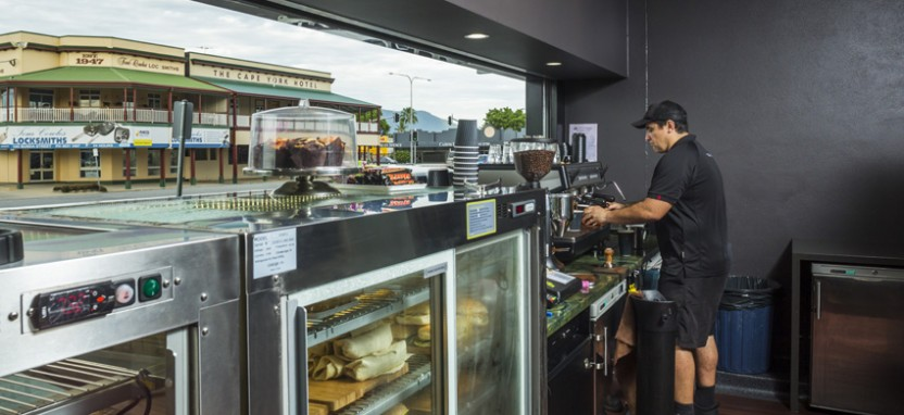Velvett Cafe project hero image, Paul Brookes Constructions Cairns